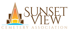 Logo - Sunset View Cemetery Association