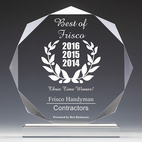 Frisco Handyman | Best Business of Frisco TX Award | Contractors Category