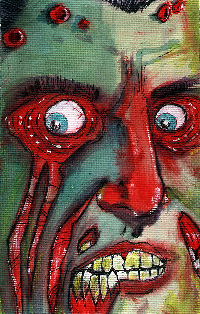 Ryan Lindsay as #97 Zombie created by Byron Rempel Jul 2012