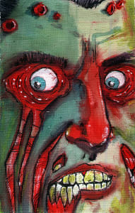 Ryan Lindsay as #97 my kids Zombies: created by Byron Rempel Jul 2012