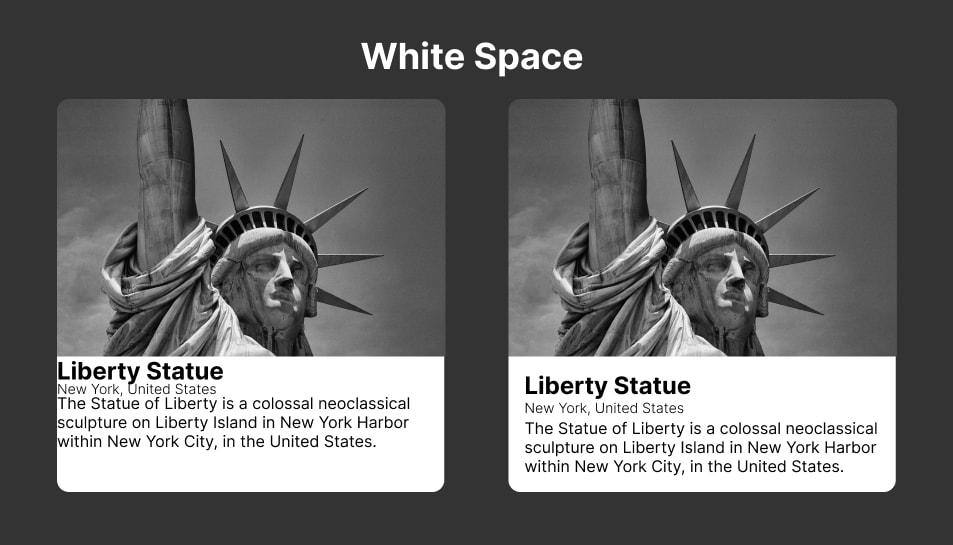Ilustrasi Whitespace