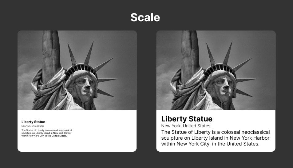 Ilustrasi Scale