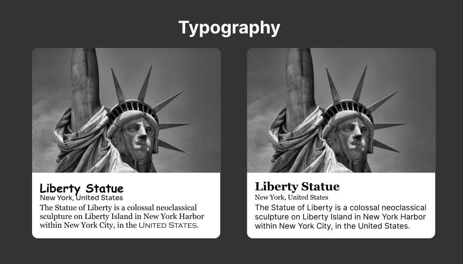 Ilustrasi Typography
