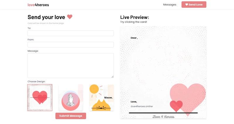 Web Screenshot Form
