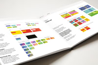 NOS brand guidelines - first spread