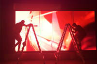 Installing a Nike campaign in-store