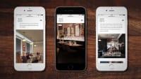 Amalfi White mobile website design