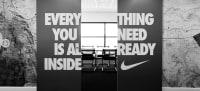 Nike head office - meeting room entrance