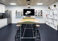 Nike head office kitchen table