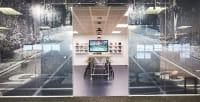 Nike head office - kitchen entrance
