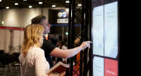 User experience design - large touchscreen