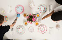 Royal Doulton pastels collection photography prepartions