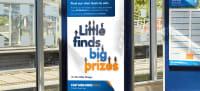 East Midlands Trains 'Little finds big prizes' advert design