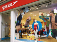 Speedo shop window design