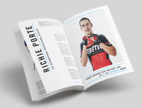 Magazine article of Richie Porte