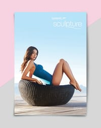 Speedo Sculpture swimsuit brochure front cover