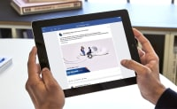 East Midlands Trains All Ears campaign on iPad Facebook
