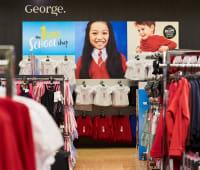 George seasonal magnetic point of sale