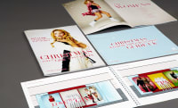 Primark Christmas brochure design