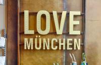 TK Maxx 'Love Munchen' interior wall signage