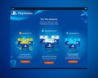 Playstation website design graphics, best web graphic design agency