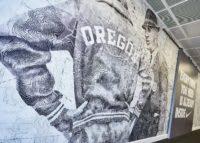 Nike Head office Oregon wall 1