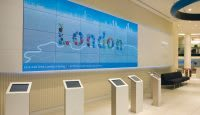 Barclays Being London installation
