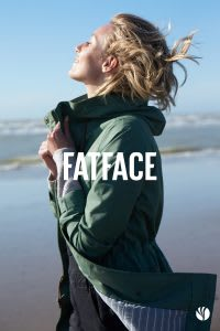 FatFace brochure cover