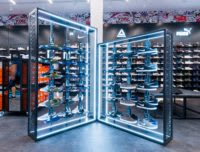 Nike footwear display