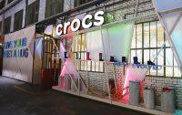 Crocs pop-up event
