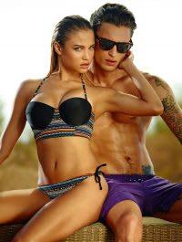 Summer swimwear photography