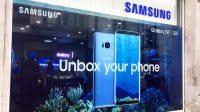 Samsung S8 shopfront