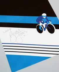Poster signed by Becky Jones