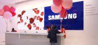 Samsung reception desk