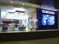 Samsung shop window