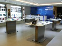 Mobile phone point of sale by Samsung