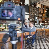 Behind the scenes of a Royal Doulton photoshoot with Gordon Ramsay
