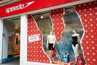 Speedo Christmas shop window design
