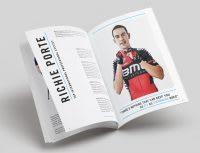Magazine article of Richie Porte