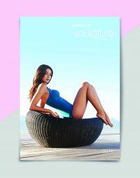 Speedo Sculpture swimsuit brochure front cover
