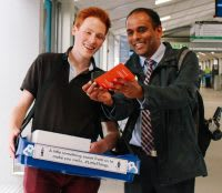 East Midlands Trains 'A little something from us' campaign