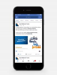 East Midlands Trains Facebook page