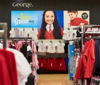 George seasonal magnetic point of sale