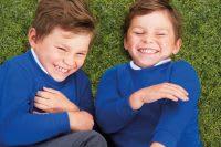 2 school kids