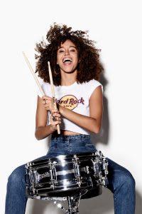 Hard Rock Cafe studio photoshoot