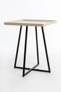 Beige corner table