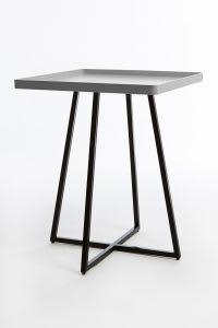 Grey corner table
