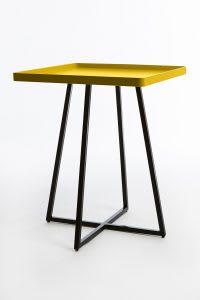 Yellow corner table