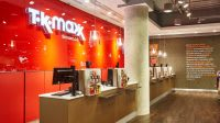 TK Maxx retail interior design