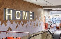 TK Maxx 'Home' interior wall signage